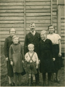 Dad's family in Germany