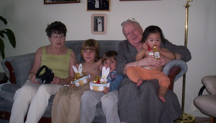 Dad's last Easter